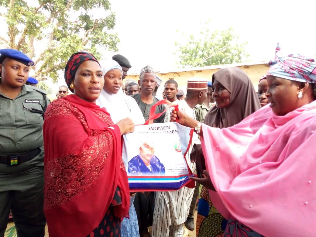Masari's wife distributes empowerment materials to Women