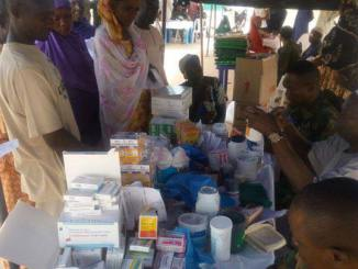 Airforce gives free medical service to Monguno residents