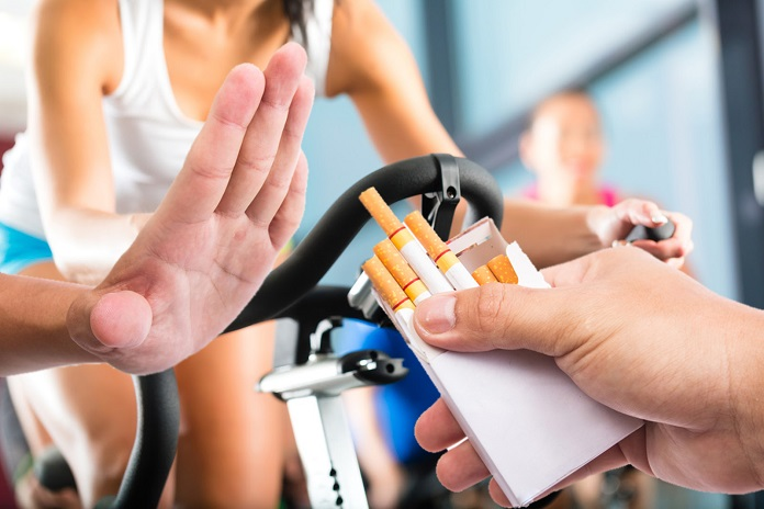 Do you know exercise can help you stop smoking?