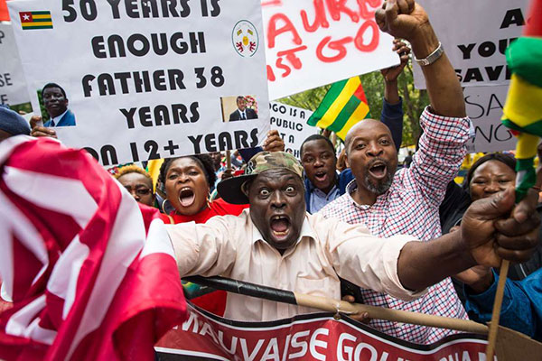 Togo citizens defy government ban, insist on end to Gnassingbe dynasty