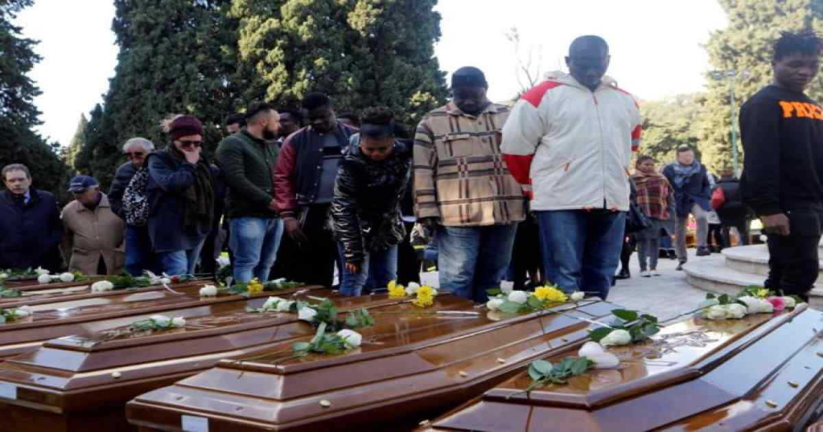 FG kicks against Italy's mass burial of 26 Nigerian migrant girls