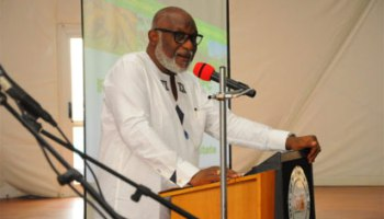 Akeredolu urges armed youths to surrender arms within 21 days