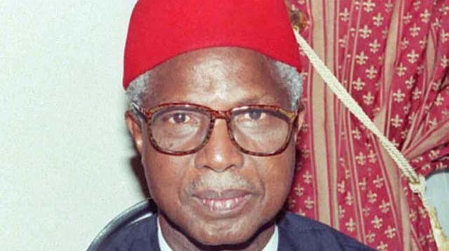 Alex Ekwueme's remains arrive in Abuja
