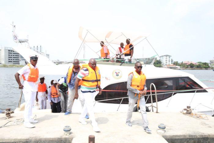 Ambode inaugurates three officials boats