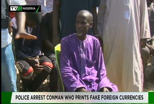 Police arrest conman who prints fake foreign currencies