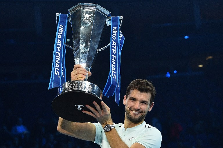 ATP Finals : Dimitrov beats Goffin to clinch biggest title of career