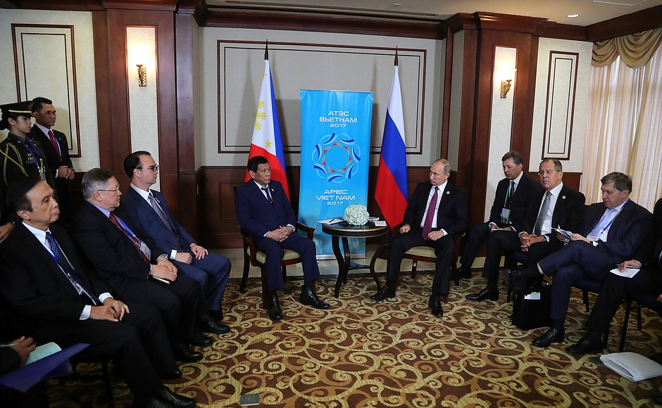 ISIS: Philippine President thanks Russia for timely assistance