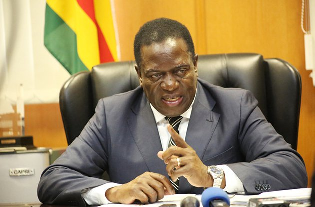 Zimbabwe's ZANU-PF picks ousted VP Mnangagwa for 2018 polls
