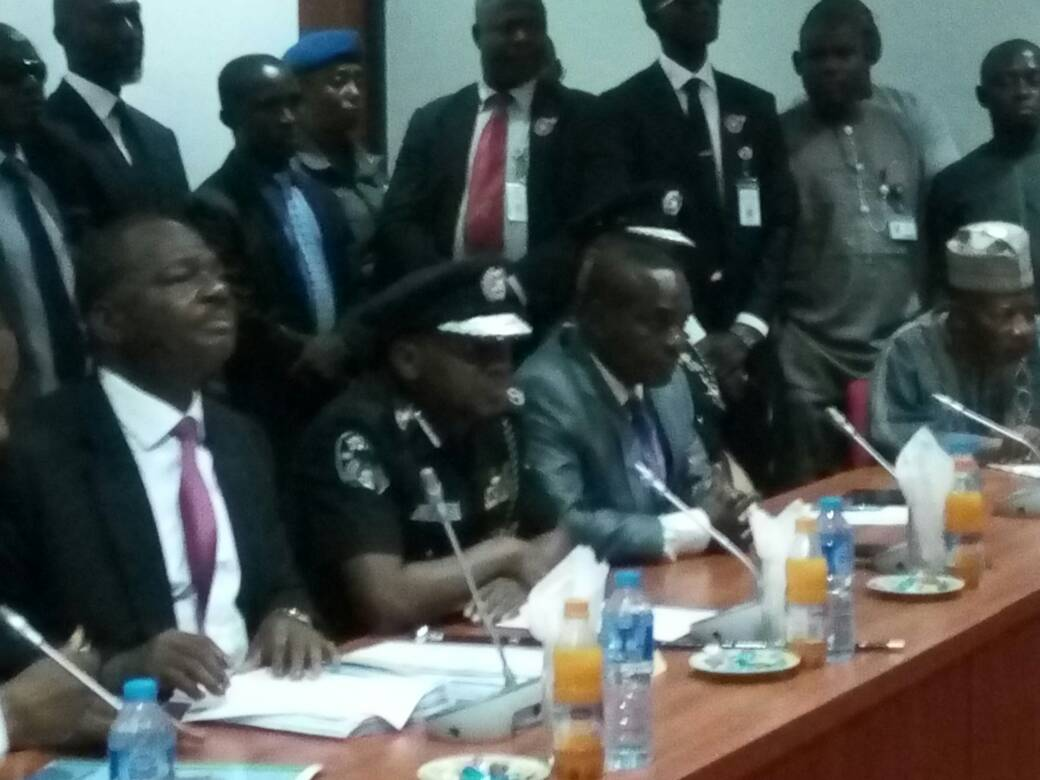 Alleged abuse of office : IGP Idris appears before Senate