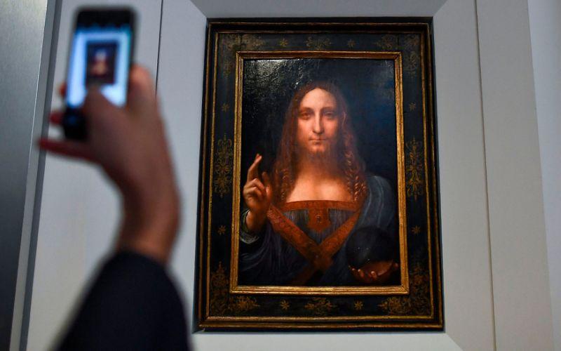 Leonardo da Vinci's portrait of Jesus sells for $450m