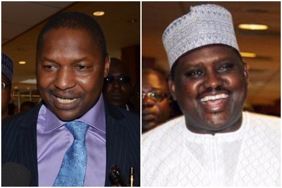 AGF Abubakar Malami 'disowns' Maina's recall letter