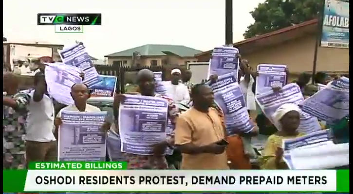 Oshodi residents protest, demand prepaid meters