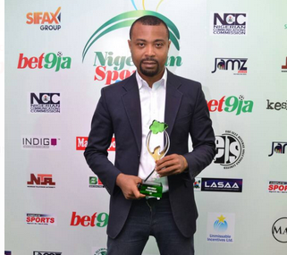 TVC News' Sports Editor, Promise Efoghe wins Best TV Journalist Award