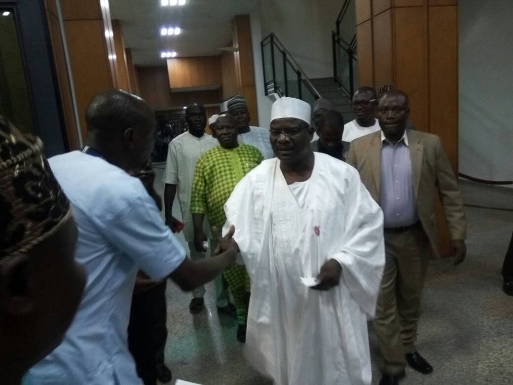 Senator Ndume resumes after Eight months suspension