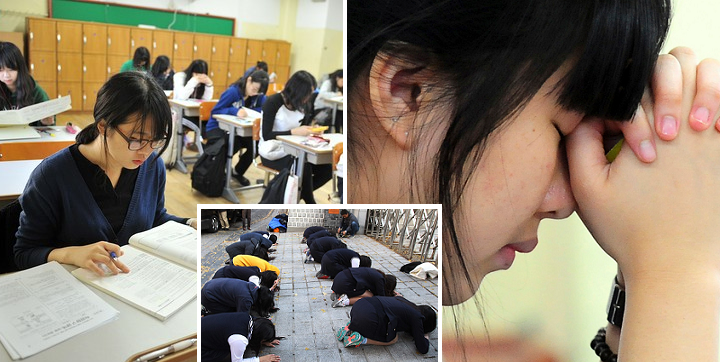 Stress and disappointment in S.Korea as university exam postponed