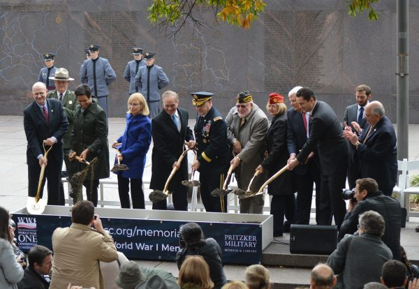 Washington hosts groundbreaking ceremony for new WWI memorial