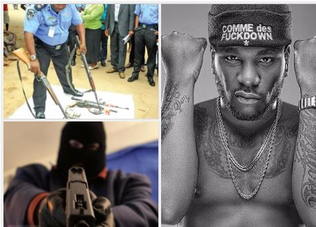 Police declare Burna Boy 'wanted' for robbery