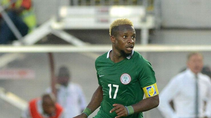 Onazi withdraws from Algeria, Argentina clash