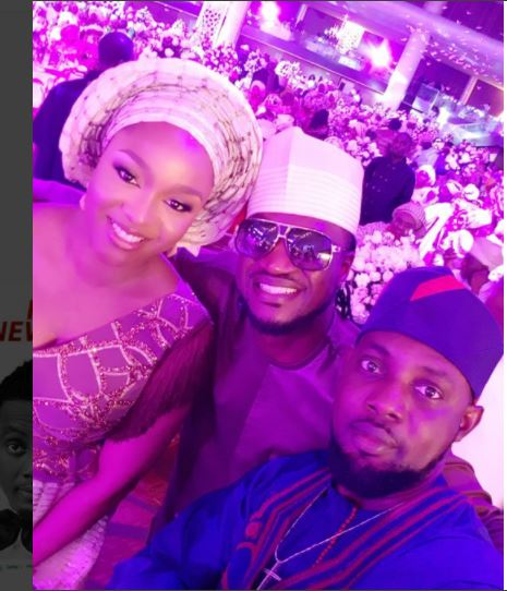 Lagos: AY, Dangote and Peter Okoye, others host Saraki daughter's wedding