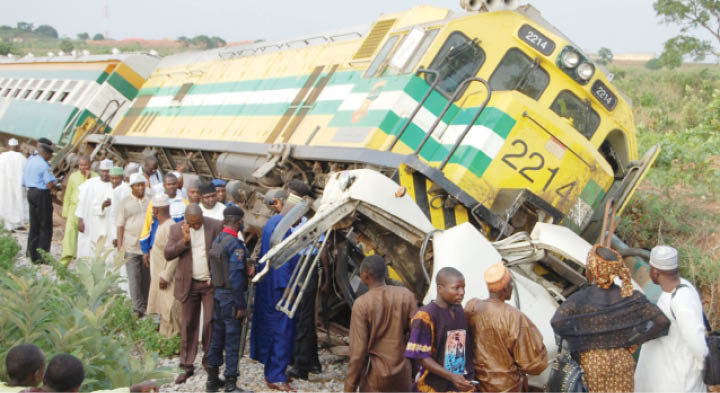 Lagos: Many feared dead as train derails in Agege