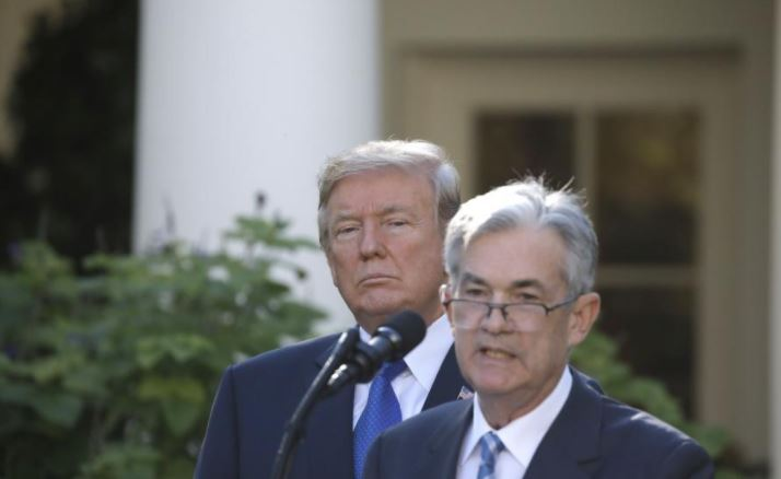 Trump taps Fed centrist Powell to lead U.S. central bank