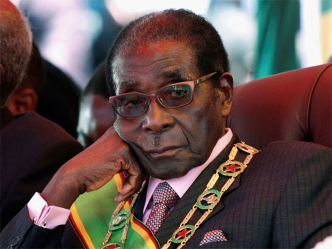 Zimbabwe's ruling party sacks Mugabe as leader