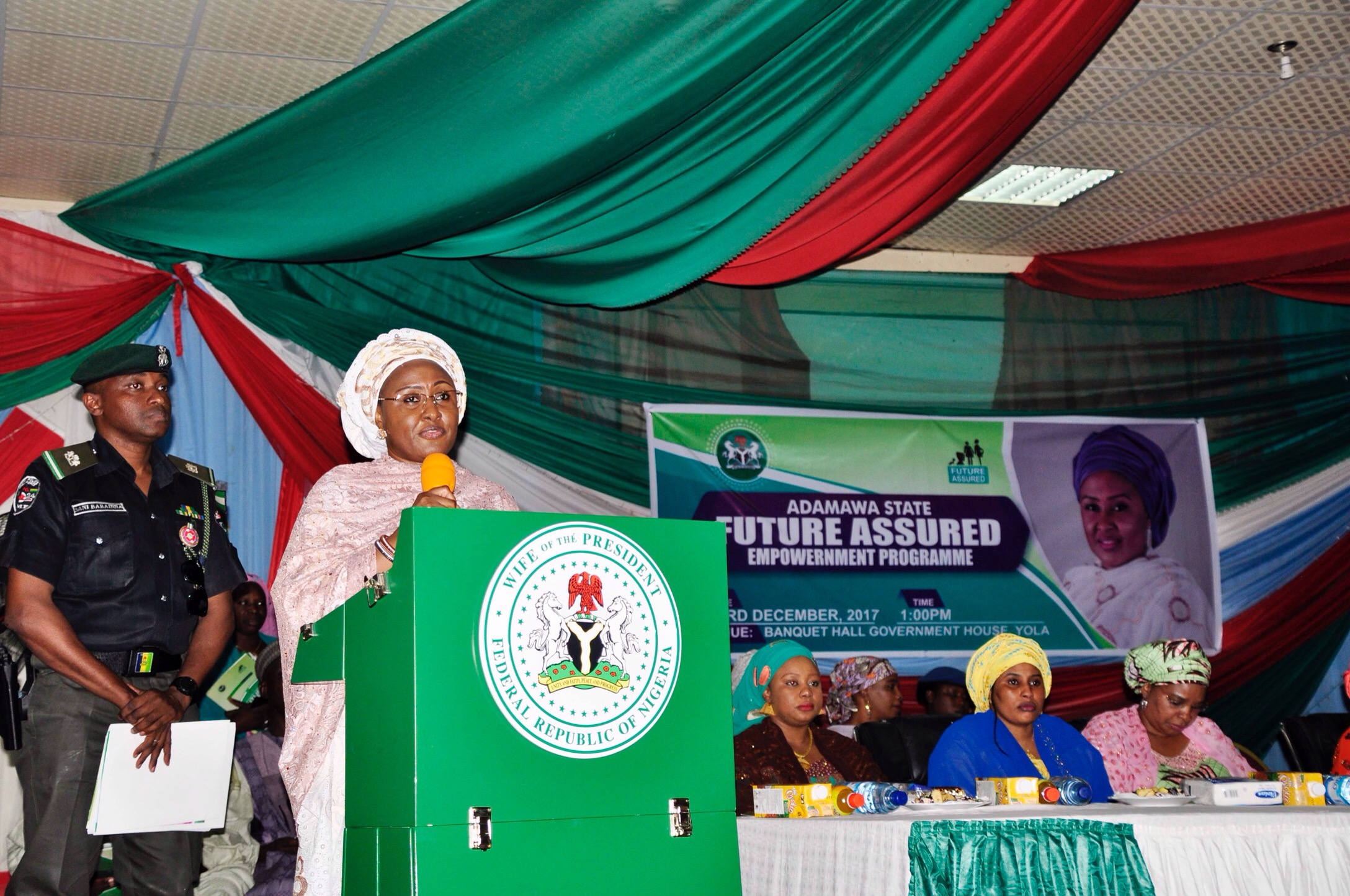Aisha Buhari empowers women, youths in Adamawa