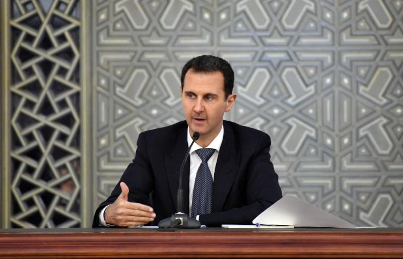 "Syria's Assad calls U.S.-backed militias ""traitors"""