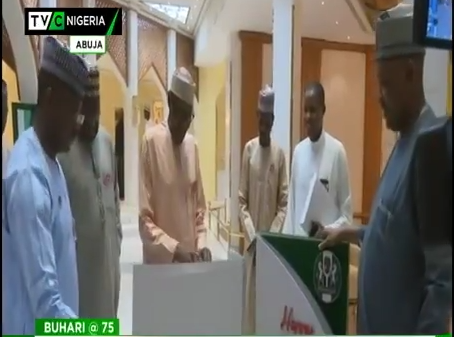 Buhari thanks staff, friends for low key 75th birthday celebration