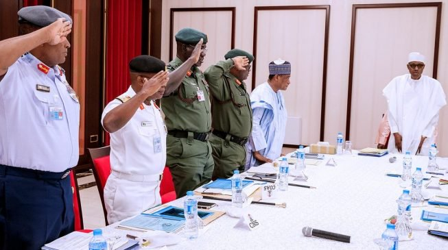 Buhari extends tenure of Service Chiefs