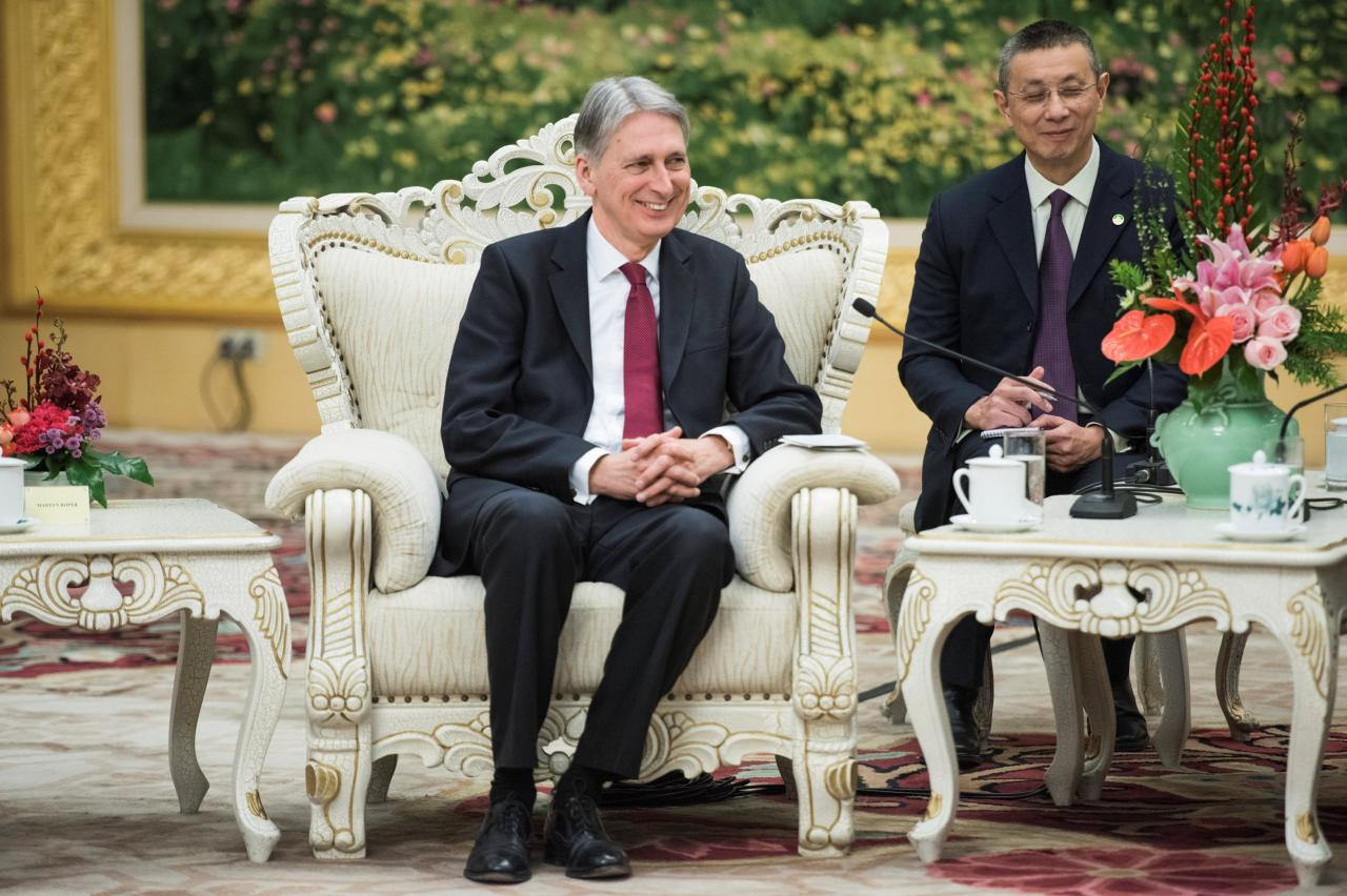 Britain eyes closer Belt and Road cooperation with China