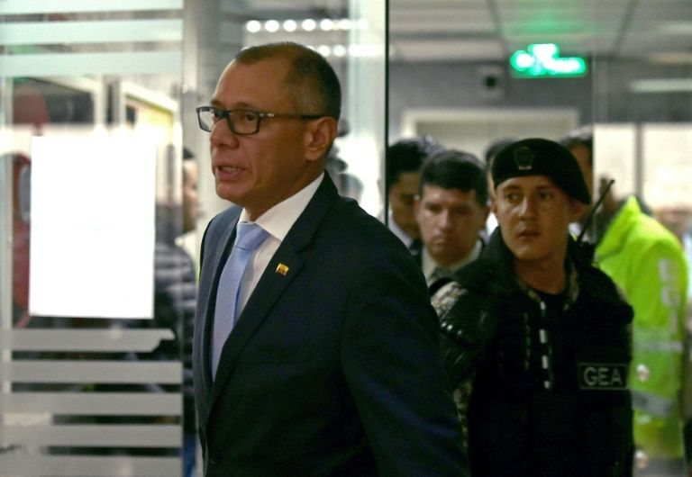Jorge Glas receives six year sentence for graft