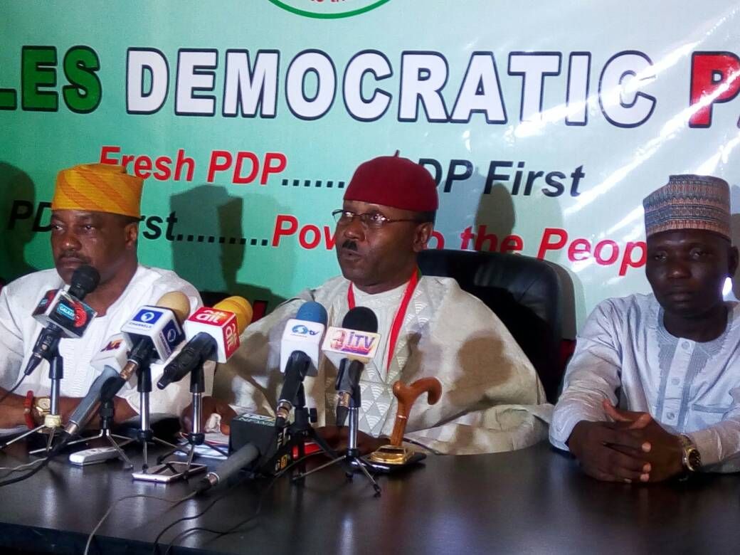 JUST IN : New PDP faction emerges, opens secretariat in Asokoro