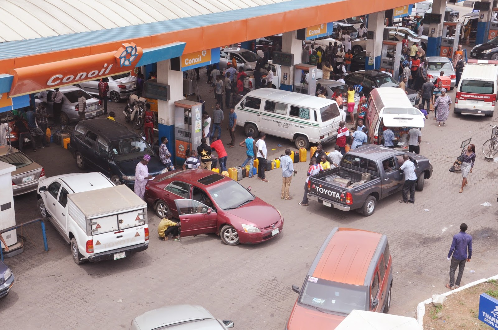 Fuel Scarcity: DPR monitors sales, seals off filling station in Lagos