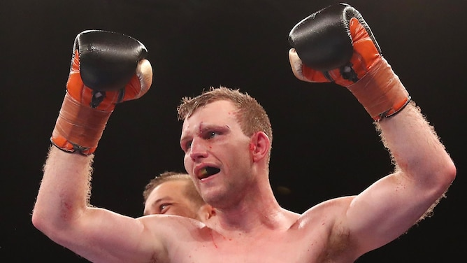 Jeff Horn retains title after TKO win over Corcoran
