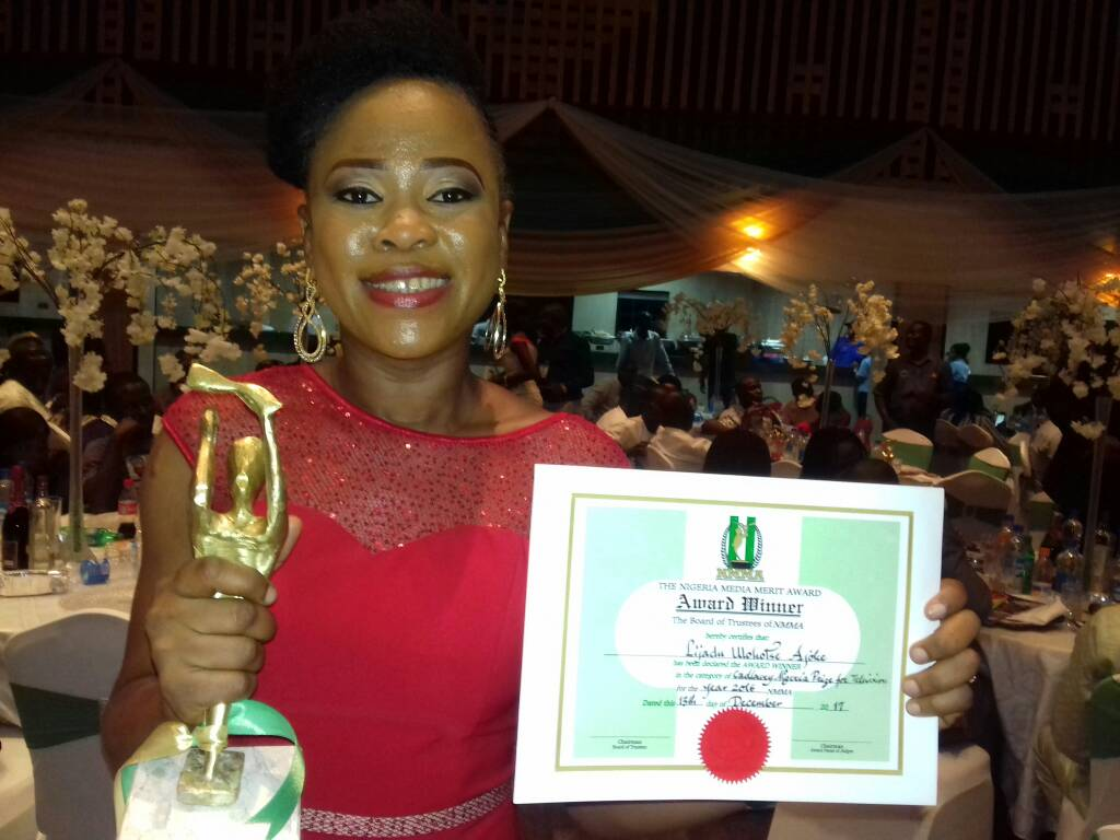 BREAKING: TVC's Joke Lijadu wins NMMA's Best Reporter of the Year Award