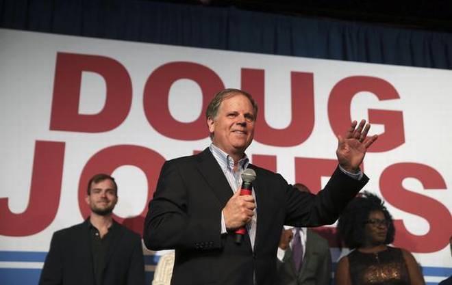 Democrat Doug Jones beats Roy Moore to win Alabama Senate Seat