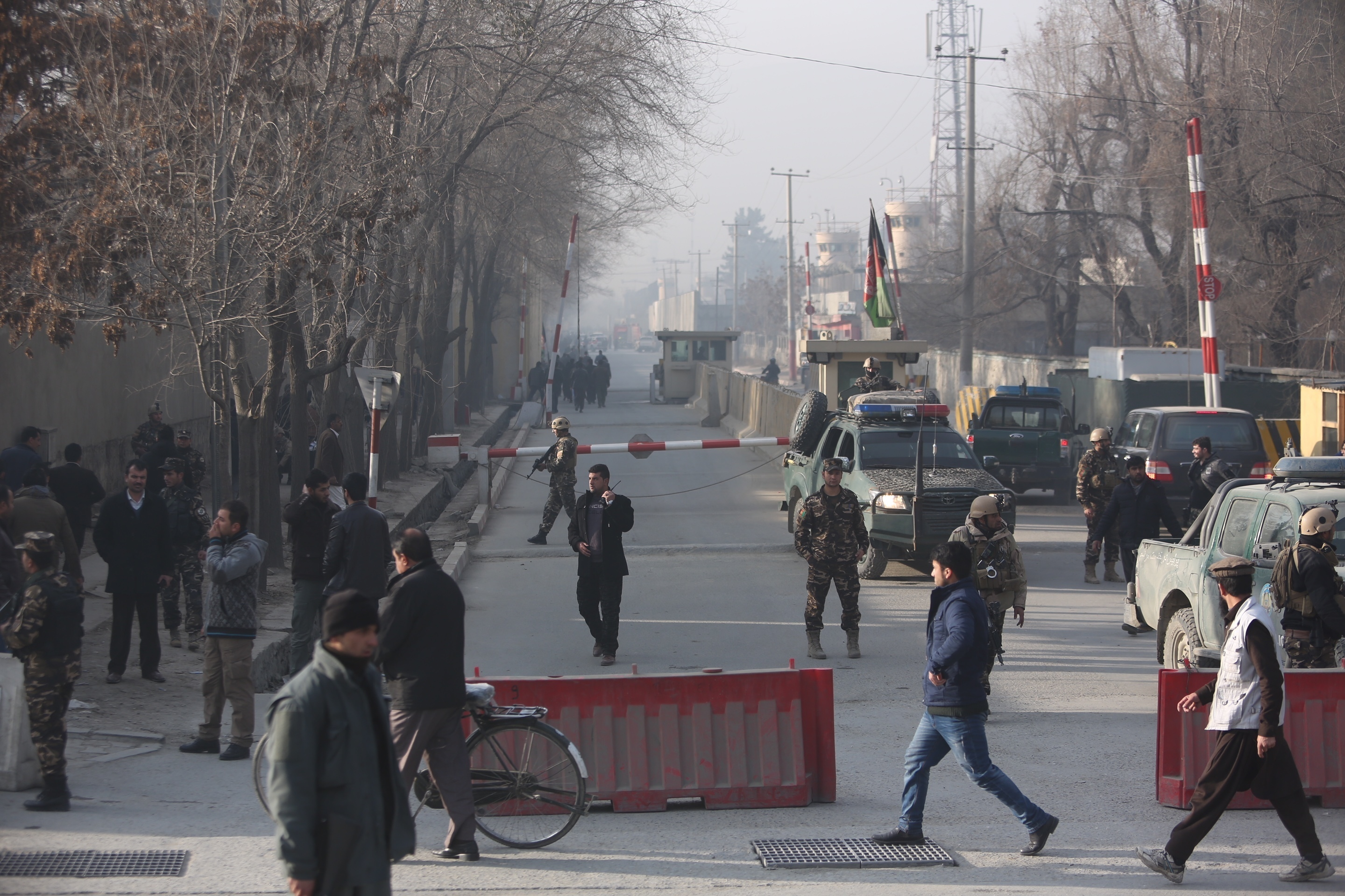 Six killed, five injured in Kabul suicide bombing
