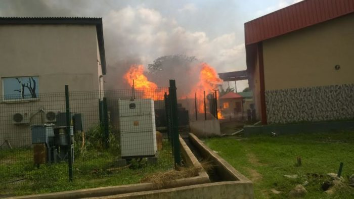 Fire guts NAFDAC headquarters in Abuja