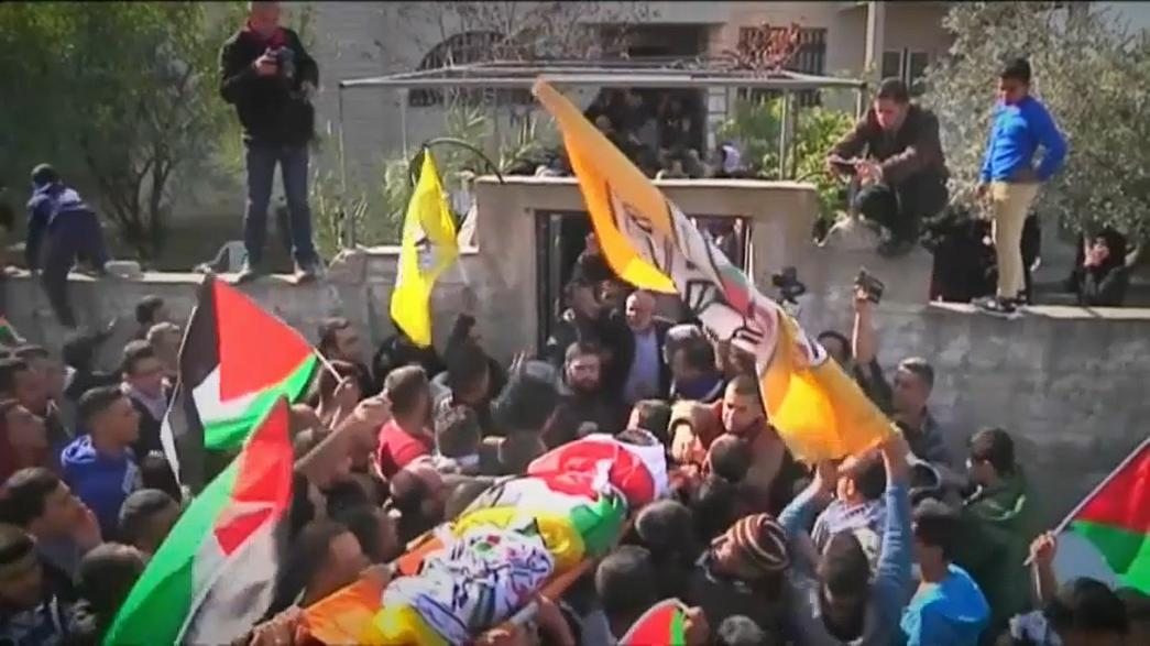 Funerals held for Palestinians killed in clashes