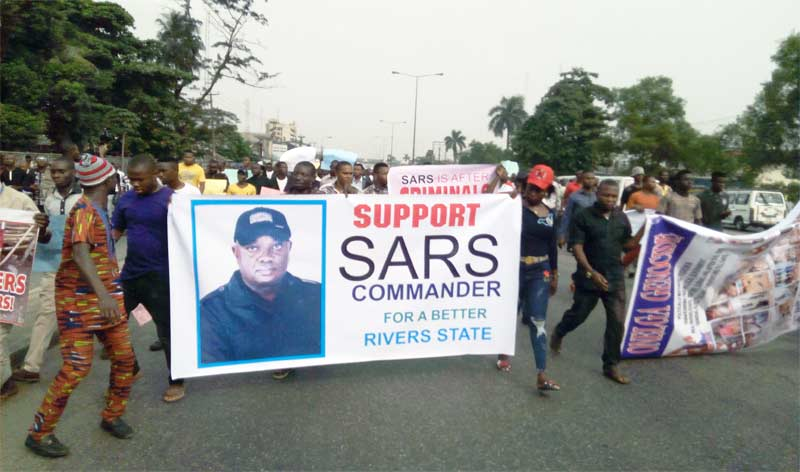 Civil Society groups rally in support of SARS