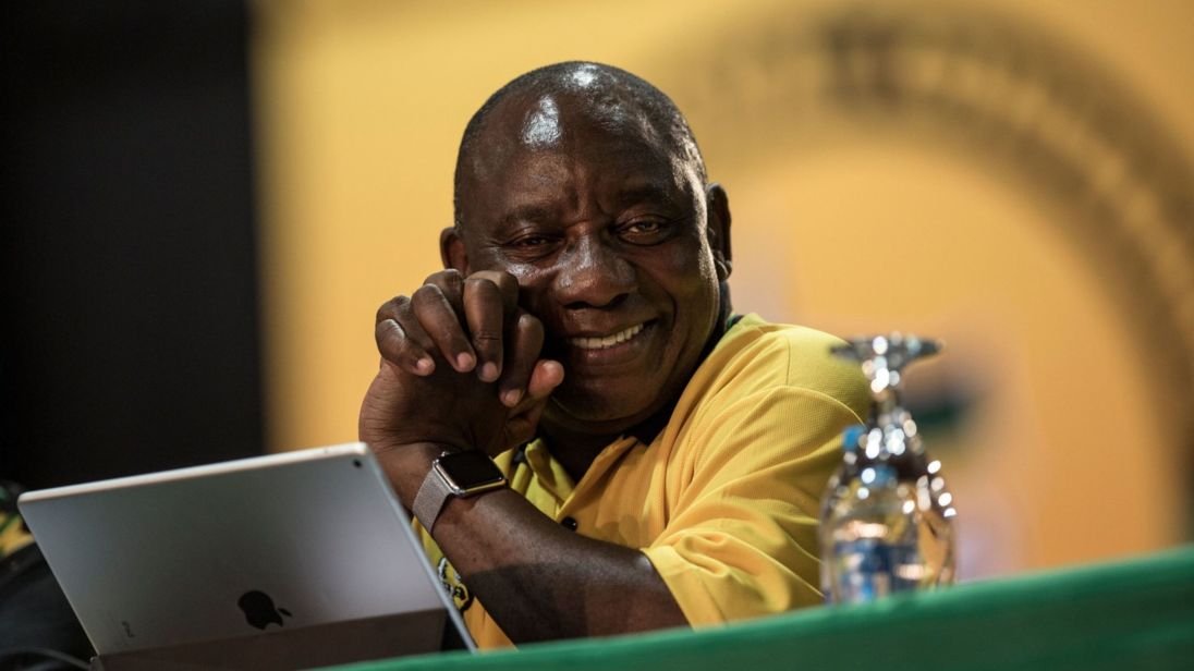 Ramaphosa elected new leader of ruling ANC