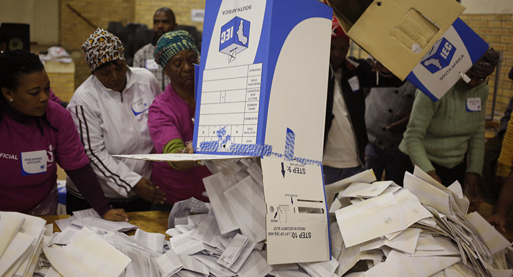Ballots being counted in vote to determine new ANC leader