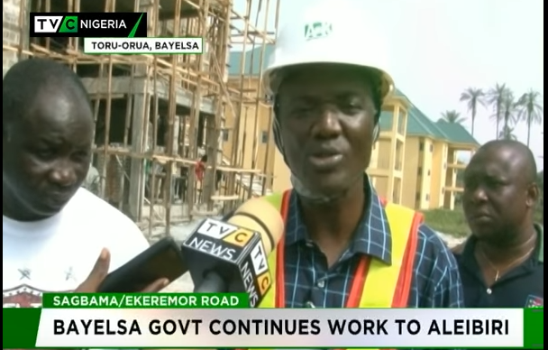 Dickson orders contractors handling Sagbama/Ekeremor road to speed up work