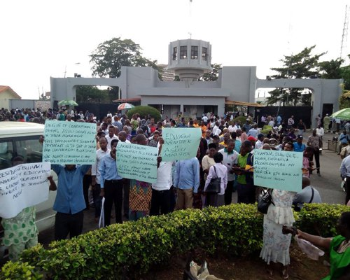 SSANU protests against unequal distribution of allowance