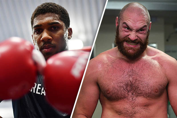 I'm ready to 'rock and roll' with Tyson Fury – Anthony Joshua