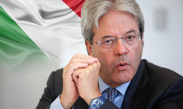Italy PM plans to shift military forces from Iraq to Niger