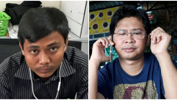Myanmar journalists to wear black T-shirts over arrest of Reuters' reporters