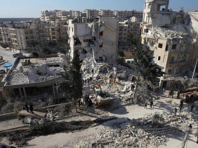 Strikes kill 19 in rebel village in Syria's Idlib – Observatory, rescue service