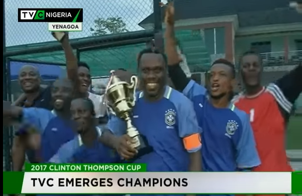 TVC emerges 2017 Clinton Thompson 5-Aside cup Champions